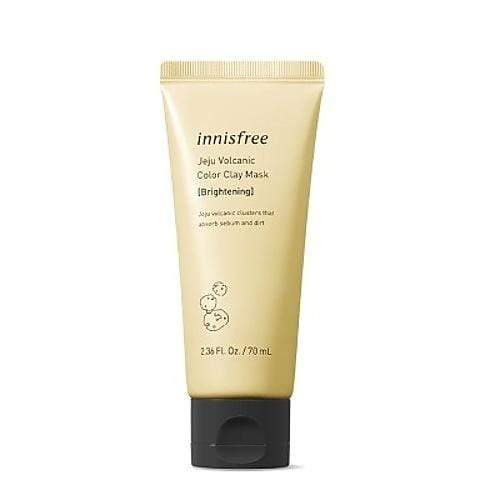 innisfree Face Mask innisfree Jeju volcanic color clay mask Yellow Brightening - KollectionK