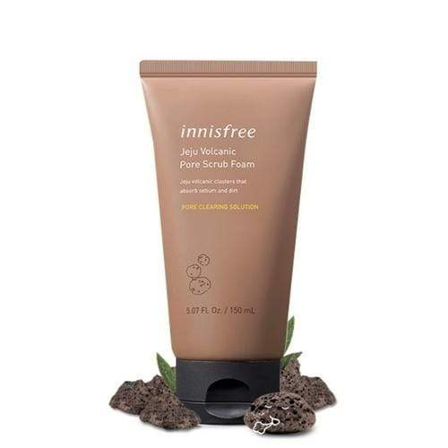 innisfree Facial Cleanser INNISFREE JEJU VOLCANIC PORE SCRUB FOAM - KollectionK