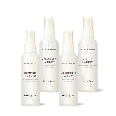 innisfree Hair Mist MOISTURIZING HAIR MIST innisfree my hair recipe hair mist - KollectionK