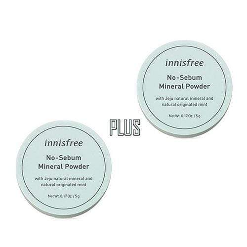 innisfree Face Powder A Set of 2ea innisfree No-Sebum Mineral Powder Set - KollectionK