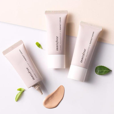 innisfree Foundation #13_P.C. innisfree smart foundation perfect cover SPF33 PA+++ - KollectionK