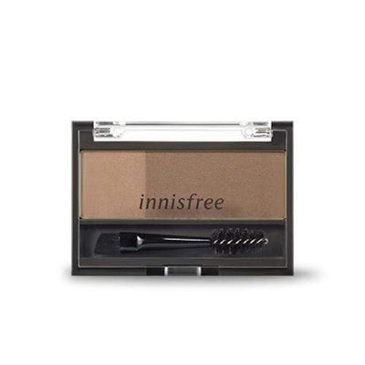 innisfree Eyebrow BROWN innisfree Twotone Eyebrow Kit - KollectionK