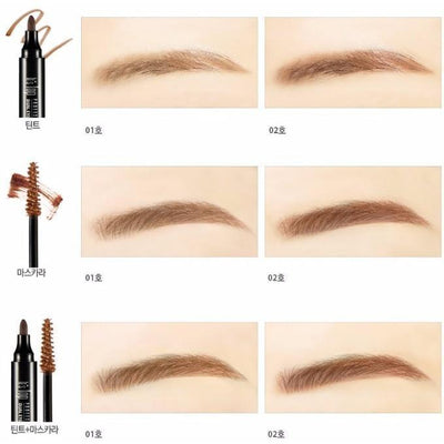 It'S SKIN Eyebrow #01 Light Brown It'S SKIN It's Top Professional Dual Eyebrow Tint and Cara - KollectionK
