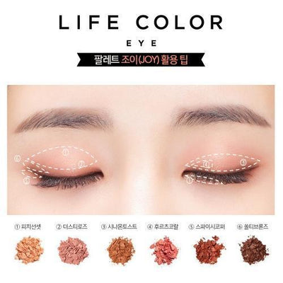 It'S SKIN Eyeshadow It'S SKIN Life Color Palette EYE 03 JOY - KollectionK