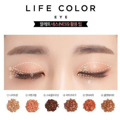 It'S SKIN Eyeshadow It'S SKIN Life Color Palette EYE 04 NESS - KollectionK