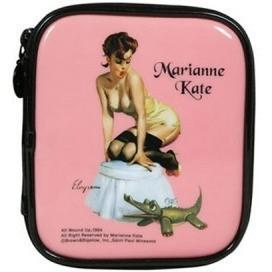 KollectionK Makeup Bag pink Pin Up Girl 3 Pink - KollectionK