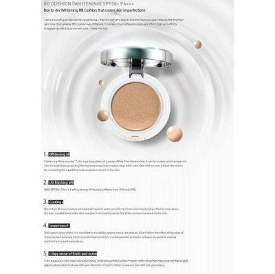 LANEIGE BB Cream #11 Porcelain LANEIGE NEW BB Cushion_Whitening SPF50+ PA+++ - KollectionK