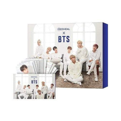 MEDIHEAL Sheet Mask MEDIHEAL x BTS Hydration Care Special Set Mask 10 sheets BTS 14 Photo Cards - KollectionK