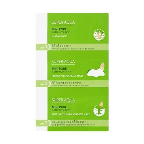 MISSHA Sheet Mask MISSHA Super Aqua Mini Pore 3-Step Nose Patch - KollectionK