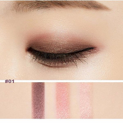 MISSHA Eyeshadow #01 MISSHA Triple Eye Shadow - KollectionK