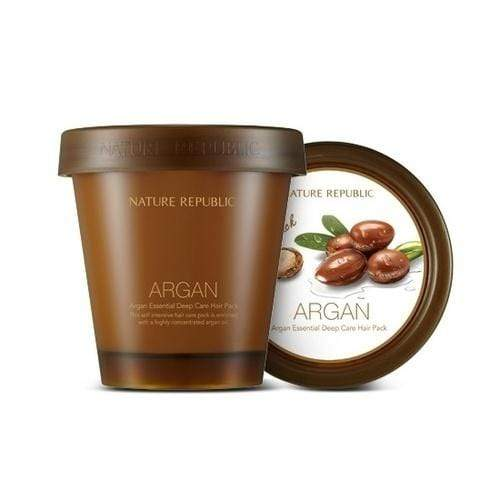 NATURE REPUBLIC Hair Treatment 200 ml NATURE REPUBLIC Argan Essential Deep Care Hair Pack - KollectionK