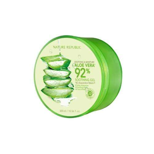 NATURE REPUBLIC Face Cream 300ml NATURE REPUBLIC Soothing and Moisture Aloe Vera 92% Soothing Gel - KollectionK