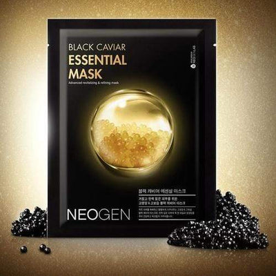 NEOGEN Sheet Mask NEOGEN DERMALOGY Black Caviar Essential Mask 10 sheets - KollectionK