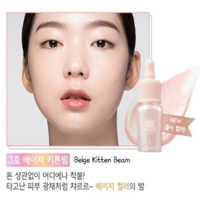 PERIPERA Highlighter No.3 Beige Kitten Beam PERIPERA Ink Highlighter - KollectionK