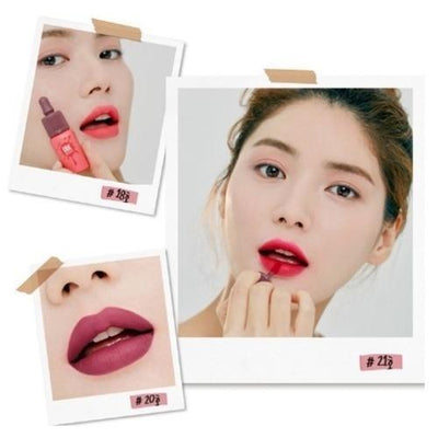 PERIPERA Lip Stain No.17 Hip Beige Pink PERIPERA Ink VELVET Lip Tint FW New Colors - KollectionK