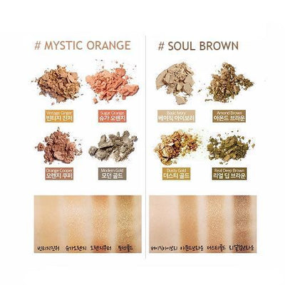 SECRET KEY Eyeshadow MYSTIC ORANGE SECRET KEY Day By Day Shadow Palette - KollectionK