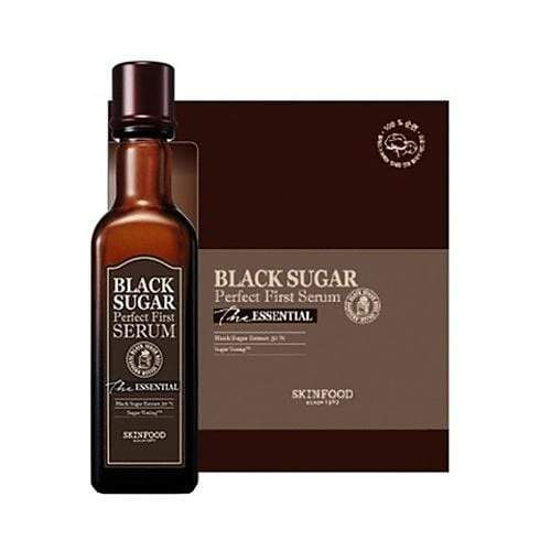 SKIN FOOD Skin Toner sugar first serum SKIN FOOD Black Sugar Perfect First Serum - KollectionK