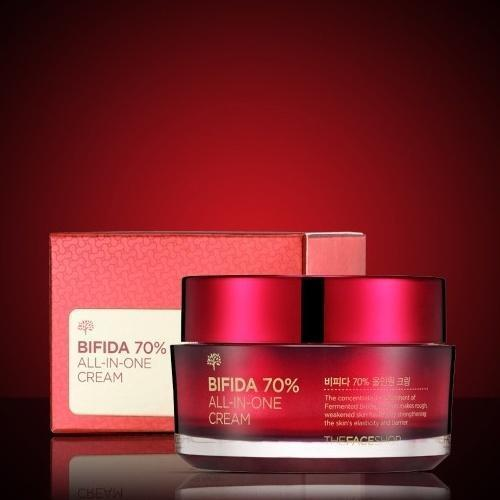 THE FACE SHOP Face Cream THE FACE SHOP Bifida 70% All in One Cream - KollectionK
