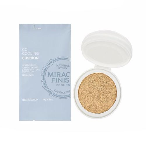 THE FACE SHOP Foundation V103_Refill THE FACE SHOP CC Cooling Cushion SPF42 PA+++ REFILL - KollectionK
