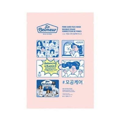 THE FACE SHOP Sheet Mask PORE CARE THE FACE SHOP Dr. Belmeur Face Mask - KollectionK
