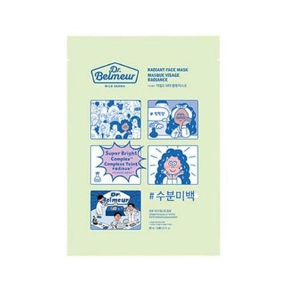 THE FACE SHOP Sheet Mask RADIANT THE FACE SHOP Dr. Belmeur Face Mask - KollectionK