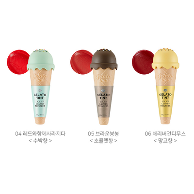THE FACE SHOP Lip Stain No.01 Vanilla scent THE FACE SHOP Gelato Tint - KollectionK