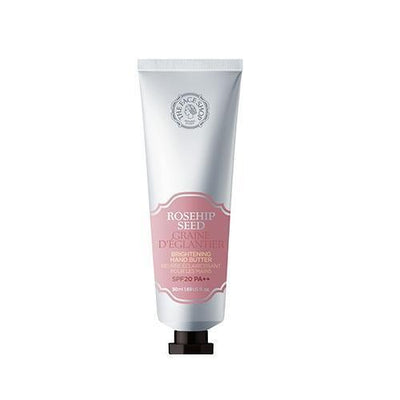 THE FACE SHOP Hand Cream Rosehip Seed Brightening SPF20 PA++ THE FACE SHOP Hand Butter Cream - KollectionK