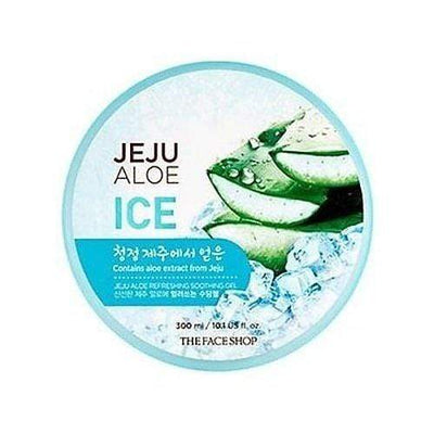 THE FACE SHOP Face Cream THE FACE SHOP Jeju Aloe Ice Refreshing Soothing Gel - KollectionK