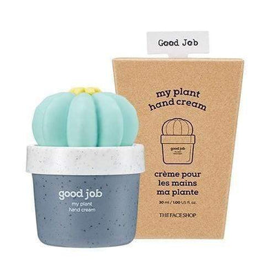 THE FACE SHOP Hand Cream No.02 Good Job THE FACE SHOP My Plant Hand Cream - KollectionK