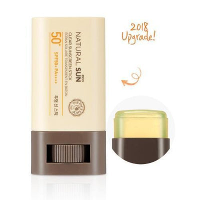 THE FACE SHOP Sunscreen THE FACE SHOP Natural Sun Eco Clear Sunscreen Stick SPF50+ PA+++ - KollectionK