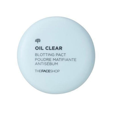 THE FACE SHOP Face Powder Blotting Powder THE FACE SHOP Oil Clear Powder Pact - KollectionK