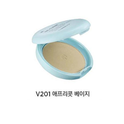 THE FACE SHOP Face Powder V201 Smooth-Bright THE FACE SHOP Oil Clear Powder Pact - KollectionK
