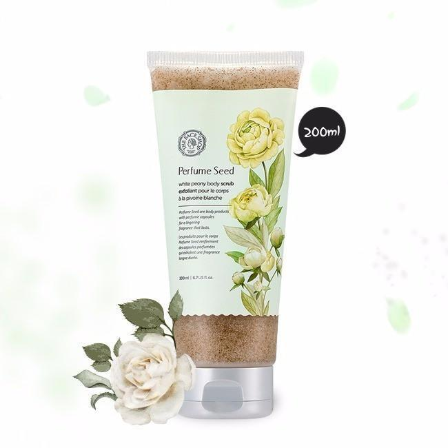 THE FACE SHOP Body Scrub THE FACE SHOP PERFUME SEED White Peony Body Scrub - KollectionK