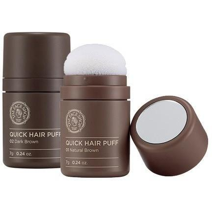THE FACE SHOP Hair Treatment #01 Natural Brown THE FACE SHOP Quick Hair Puff - KollectionK