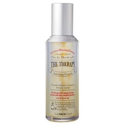THE FACE SHOP Face Lotion - THE FACE SHOP, THE THERAPY Oil Drop Anti-Aging Serum - KollectionK