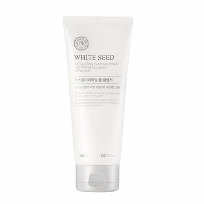 THE FACE SHOP Facial Cleanser THE FACE SHOP White Seed Exfoliating Cleansing Foam - KollectionK