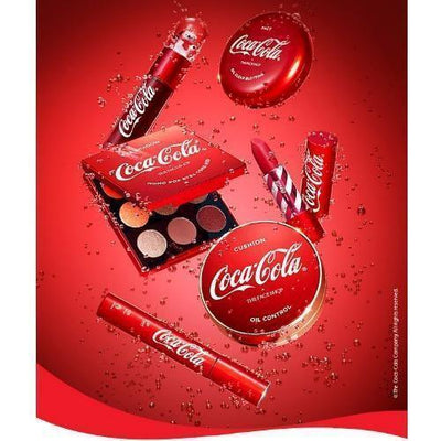 THE FACE SHOP Eyeshadow THE FACE SHOP x The Coca-Cola Mono Pop Eyes Coke Silver - KollectionK