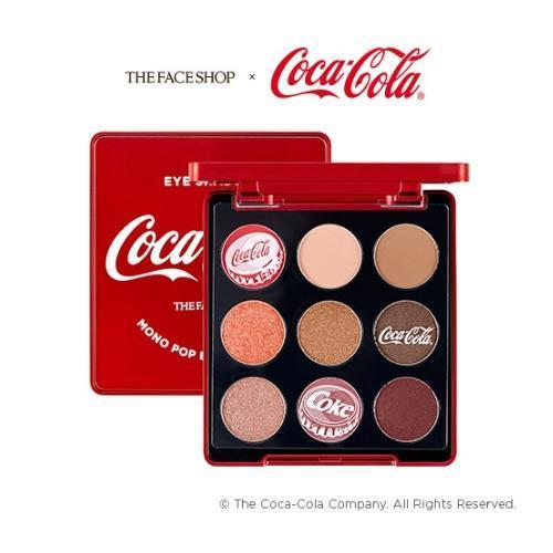 THE FACE SHOP Eyeshadow THE FACE SHOP x The Coca-Cola Mono Pop Eyes - KollectionK