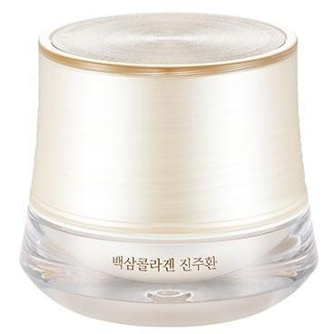 THE FACE SHOP Face Cream THE FACE SHOP YEHWADAM White Ginseng Collagen Pearl Capsule Cream - KollectionK