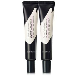 the SAEM Concealer #01 Clear Beige the SAEM Cover Perfection Liquid Concealer SPF30 PA++ - KollectionK