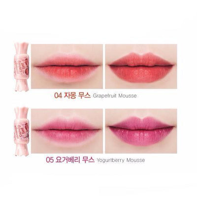 the SAEM Lip Stain No.01 the SAEM Saemmul Mousse Candy Tint - KollectionK
