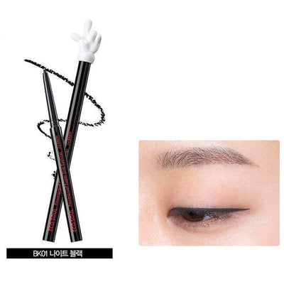 the SAEM Eyeliner BK01 Night Black the SAEM x Disney Mickey Mouse Eco Soul Powerproof Super Slim Eyeliner - KollectionK