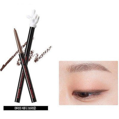 the SAEM Eyeliner BR03 Teddy Brown the SAEM x Disney Mickey Mouse Eco Soul Powerproof Super Slim Eyeliner - KollectionK