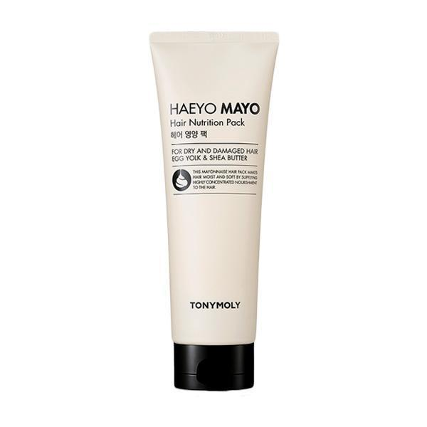 TONYMOLY Hair Treatment Mayonnaise hair pack TONYMOLY Haeyo Mayo Hair Nutrition Pack - KollectionK