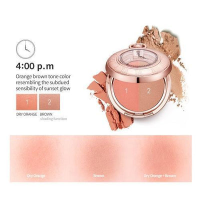 TONYMOLY Blush 4:00 p.m TONYMOLY LABIOTTE MOMENTIQUE Time Blusher - KollectionK