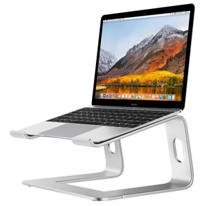 Supreme Pro Laptop Stand - Silver