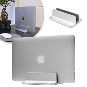 Laptop Stand Riser - Desk or Table - Silver