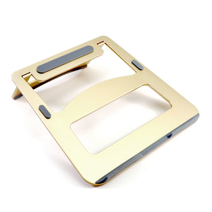 Portable Laptop Stand Riser - Gold