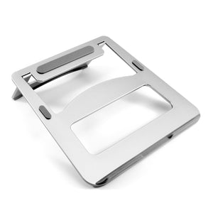 Portable Laptop Stand Riser - Silver