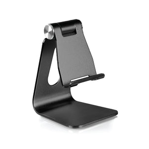 Rotatable Mobile Phone Holder - Black